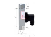 IFE - 低成本的可调式流量指示器